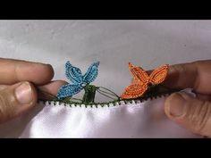 çeyizlik tığ oya modeli yapımı - YouTube