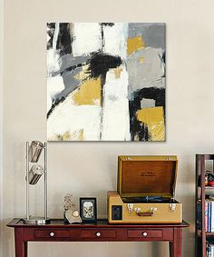 Loving this Yellow Catalina I Gallery-Wrapped Giclée Canvas on #zulily! #zulilyfinds