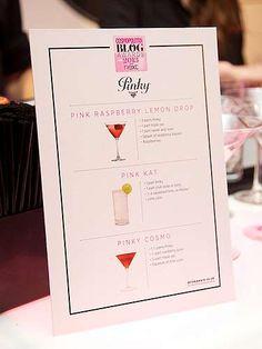 Pinky Vodka cocktail menu --- www.spiritedgifts.com #happysipping