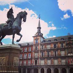 Plaza Mayor in Madrid, Madrid