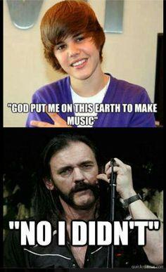 Lemmy didn't approve, lol