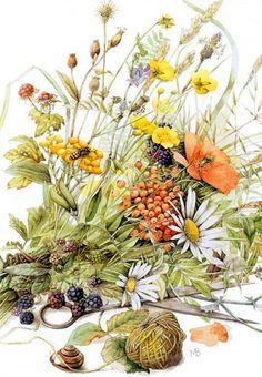 Capricci animati: Bellissimi disegni romantici con animaletti e fiori