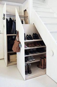 Trapkast schoenen