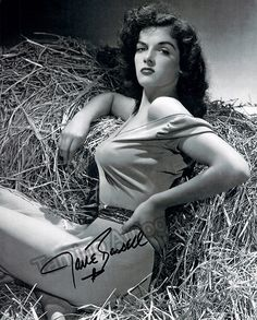 Russell, Jane - Signed Photo
