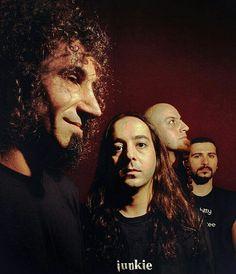 Serj, Daron, Shavo y John! System Of A Down, Nu Metal, Black Metal, Heavy Metal, John Dolmayan, Joe Russo, Darren Aronofsky, Best Rock Bands, Rock Bands