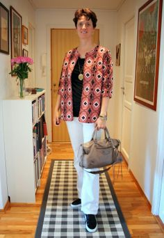 Beadwork and jeans. Jacket from HM.