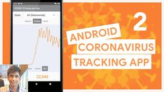 COVID-19 Tracking App (Robinhood Style) Ep 2: Retrieving Data from the A... Android Video, Ui Components, Android Studio, Tracking App, Open Source, Positivity, Videos, Buttons, Cat