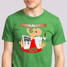 And you? How would you react if you found that you've just had your last coffee? Amokalypse is here! Yours at http://www.redbubble.com/people/tudi/works/16879059-amokalypse