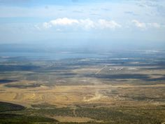 Lake Naivasha as seen from the top of Mt. Longonot on our team bonding trip