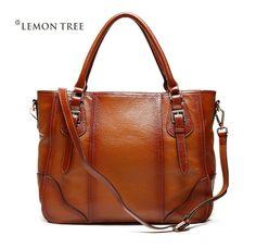 bf921f296a8f vintage 100% genuine leather bags women leather handbags messenger bags  handbag totes shoulder bags frist