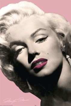 Marilyn Monroe Pink Lips Sexy Celebrity Photography Poster 24 x 36 inches by Imaginus Posters, http://www.amazon.com/dp/B005P2X1T0/ref=cm_sw_r_pi_dp_iKqHqb1HZ18H6