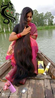 Bun Hairstyles For Long Hair, Braids For Long Hair, Indian Hairstyles, Really Long Hair, Super Long Hair, Beautiful Long Hair, Gorgeous Hair, Indian Long Hair Braid, Futuristic Cars