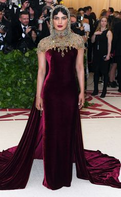 4fb16a397 How Priyanka Chopra s Gorgeous 2018 Met Gala Look Honored the Theme and Her  Indian Heritage