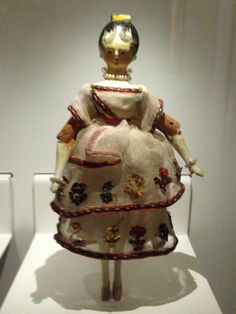 Doll belonging to Queen Victoria
