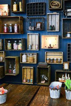 Gallery Wall - How to Hang Art Guide Pub Interior, Italian Interior Design, Restaurant Interior Design, Cafe Shop Design, Coffee Shop Interior Design, Small Cafe Design, Rustic Cafe, Rustic Restaurant, Pub Decor