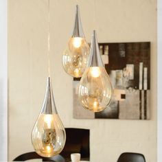 Lightbulb! We'll be honest, we think these orbs were one of our brighter ideas: http://bit.ly/1PSohRM #lighting #interiorstyling #interiordesign