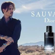 88737980994 Johnny Depp for Dior Sauvage Fragrance 2015 Johny Depp