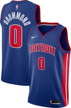 73a1f63ef Nike Men s Detroit Pistons Andre Drummond  0 Royal Dri-FIT Swingman Jersey