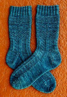 Ravelry: Moody Stockings - SKA November Mystery Sock pattern by Erica Lueder