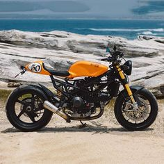 1999 Ducati ST2 Tourer turned cafe racer beast named 'Clockwork Orange'…