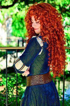 Lovely Merida photo by Merida Disney, Walt Disney, Disney Parks, Princess Merida, Disney Princess, Princess Academy, Last Minute Costumes, Long Red Hair, Princess Photo