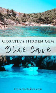 The Blue Cave on biševo island in Croatia is a must-see attraction and can be visited as a day trip from Split or a day trip from Komiza Vis. Croatia Itinerary, Croatia Travel Guide, Europe Travel Guide, Europe Destinations, Travel Guides, Blue Cave Croatia, Visit Croatia, Travel Around The World, Day Trips