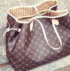 Louis Vuitton Handbags #Louis #Vuitton #Handbags - Neverfull MM M40156 - $227.99