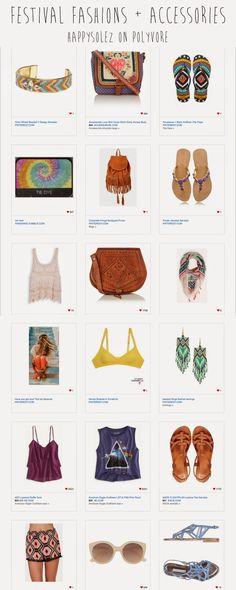 Festival Fashion Ideas!