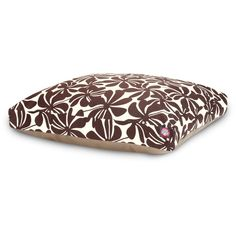 Majestic Pet Plantation Rectangle Dog Bed - Chocolate (Brown) - Extra Large