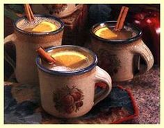 Fall themed weddings try a hot buttered rum.