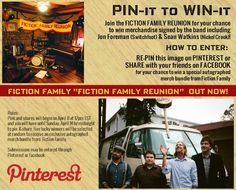 Fiction Family Reunion Pinterest contest. :)