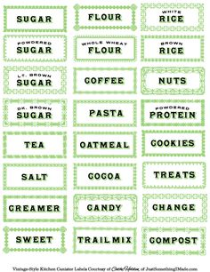 This website has a ton of great printable labels