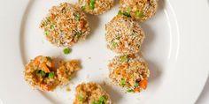 Chicken Fries Rice Balls