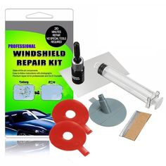 Buy Windshield Repair Kits DIY Car Window Glass Scratches Restore Tool Windscreen Polishing Repair Tool Set For Chips Cracks at www.smilys-stores.com! Free shipping. 45 days money back guarantee. Cracked Windshield Repair, Crack In Windshield, Windshield Glass, Custom Stained Glass, Stained Glass Panels, Leaded Glass, Window Glass, Glass Repair, Diy Home Repair