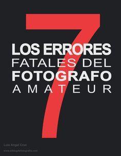 Este libro te va a ayudar a acortar tu curva de aprendizaje y a evitar, a toda costa, estos fatales errores que seguramente estancan el camino de muchos fotógrafos que incluso cobran por sus servicios cometiendo estos errores.