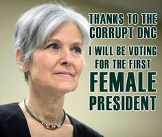 Dr. Jill Stein ‏@DrJillStein  8h8 hours ago It's the height of privilege to win a primary rigged by your elite cronies, then act entitled to the votes of people you cheated. #DNCleak