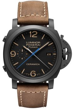 Luminor 1950 3 Days Chrono Flyback Automatic Ceramica - 44mm PAM00580 - Collection Luminor 1950 - Officine Panerai Watches