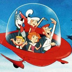 """DVD: Jetsons Hanna-Barbera had already made a hit out of the past (""""The Flintstones""""), so it created this future-based counterpart about hapless computer guy George Jetson and his typical space-age family, who drive flying cars and get their food from a machine. Wife Jane and daughter Judy obsess over fashion, while young son Elroy conducts complex science experiments and robotic maid Rosie takes care of the chores. The show spawned a 1990 feature film."""
