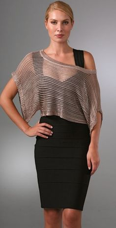 Crochet Top - Lyst