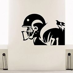 Wall Decal Vinyl Sticker Gym Sport Rugby American Football Player Decor Sb225 ElegantWallDecals http://www.amazon.com/dp/B011LM1XG0/ref=cm_sw_r_pi_dp_L6iYvb0B95N8V