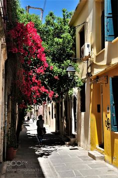 Rethymno- The old town-Crete by vasanaf300 #architecture #building #architexture #city #buildings #skyscraper #urban #design #minimal #cities #town #street #art #arts #architecturelovers #abstract #photooftheday #amazing #picoftheday