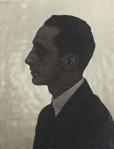 Jean Michel Frank, by Man Ray, 1927