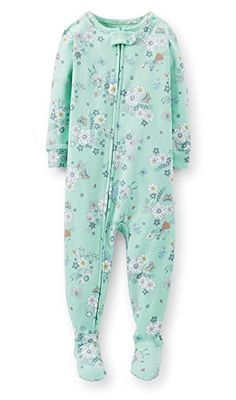 Carter's Baby Girls 1 Piece Cotton Fairy Footie Pajamas (12-24 Months) (12 Months) Carter's http://www.amazon.com/dp/B00MOU9UF0/ref=cm_sw_r_pi_dp_EDWiub0473KT6