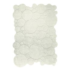 Tapis Ecru Circle x 140 cm) : Esprit Home House Doctor, White Rug, Large Rugs, Modern Rugs, Soft Furnishings, Candle Holders, Throw Pillows, Luxury, Design