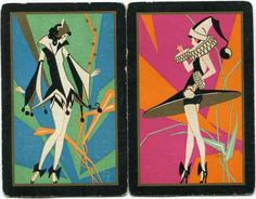 1920's Art Deco Playing Cards