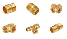 Plumbing fittings are mostly demanded by customers for their industrial and commercial applications. Brass pipe fittings allow pipes to be installed or joined in the appropriate place and closed or terminated where required.