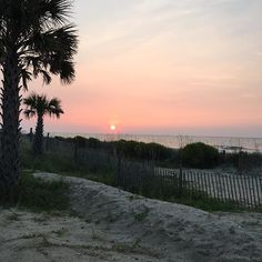 Sunrise in Myrtle Beach, South Carolina   (Photo via Instagram by @jrh25 - Click on the pin when you're ready to capture your very own sunrise and check out the hotel deals - they go on all year long!)