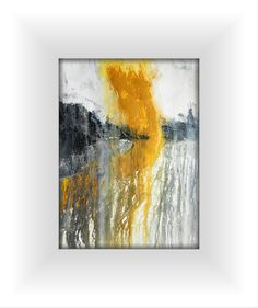 A3 Fine Art OOAK Original Modern Abstract Acrylic Wash by EdenSome, €42.00