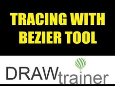 Tracing With Bezier Tool In CorelDRAW - YouTube