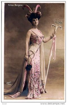Edith Whitney, most famous as a showgirl for Moulin Rouge